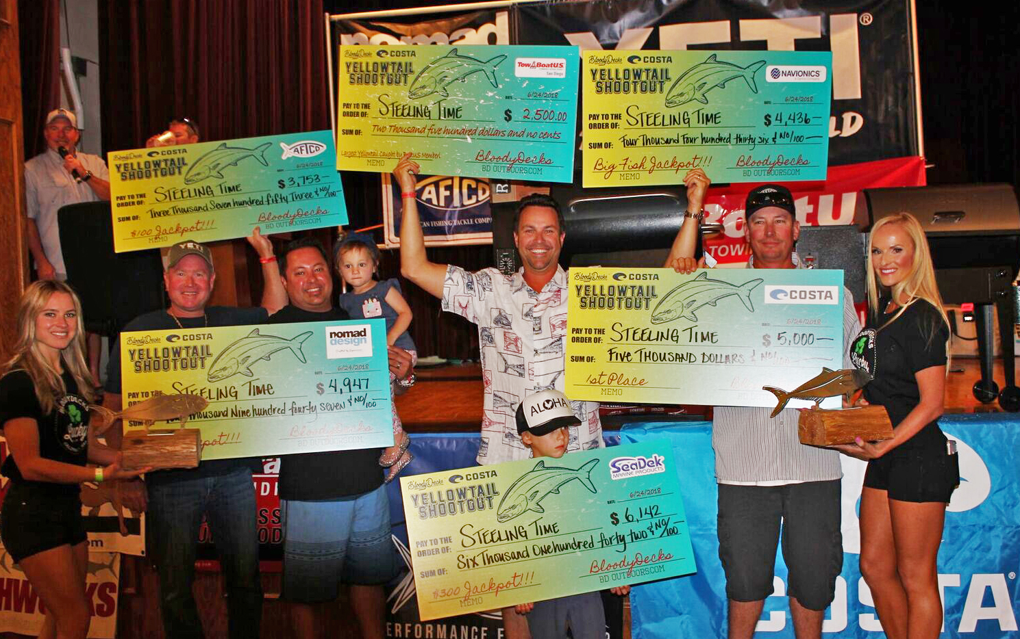 2019 Yellowtail Shootout Tournament