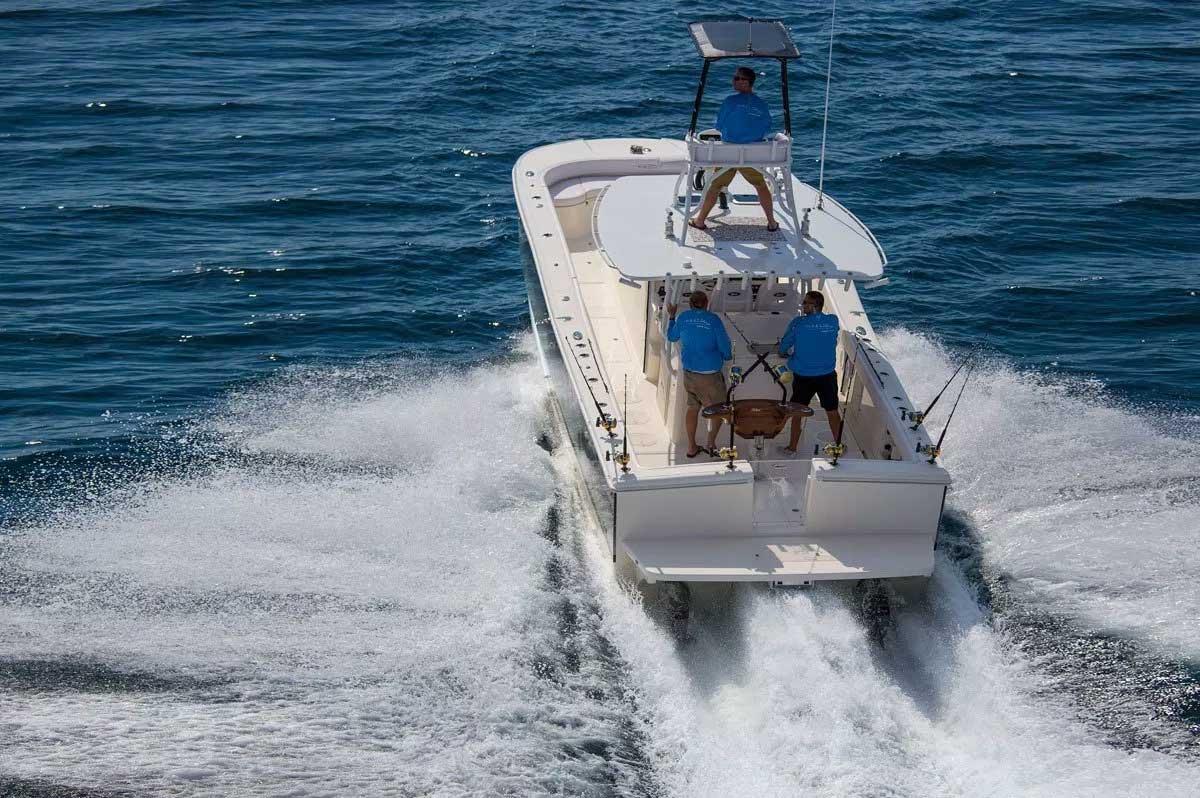 fishing catamarans