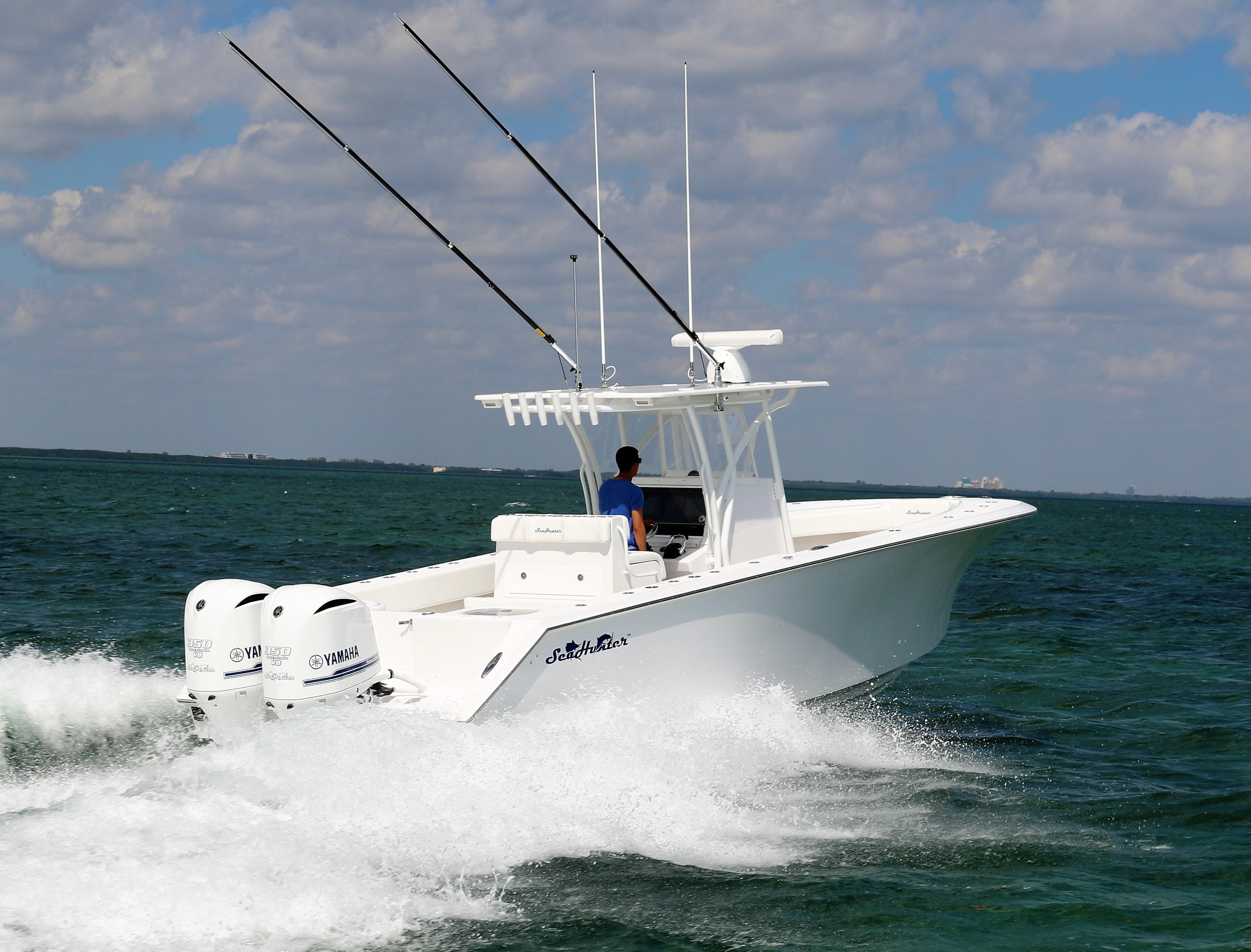 Sea Hunter Boats >> Seakeeper Now Standard Equipment On Many Seahunter Boats Bdoutdoors