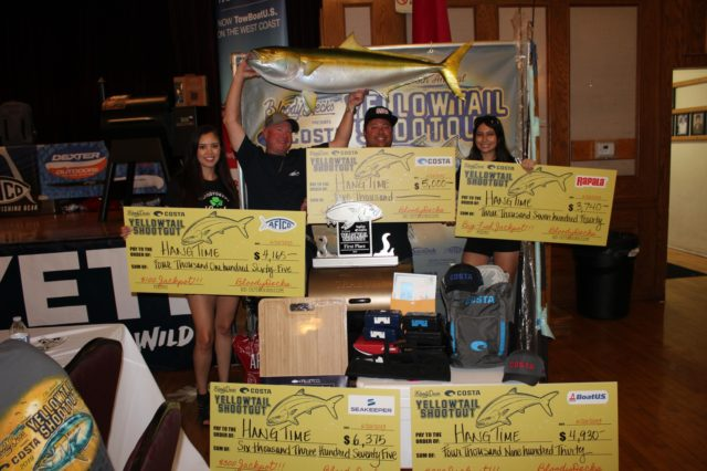 Team Hangtime wins 1st Place in the 2019 Yellowtail Shootout