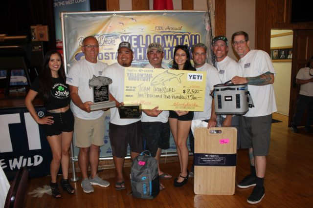 Team Ironclad wins 2nd place in the 2019 Yellowtail Shootout