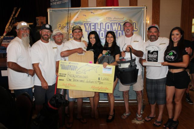 Team Rickdiculous wins 3rd Place in the 2019 Yellowtail Shootout