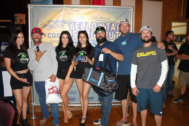 Team Tekila wins 5th place in the 2019 Yellowtail Shootout