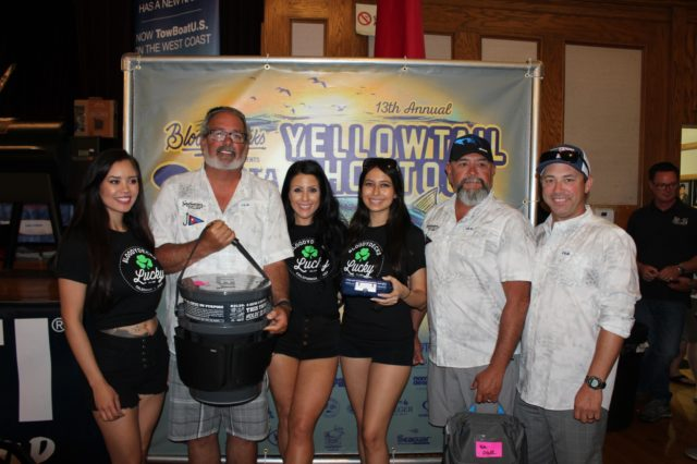 Team Get Knotty wins 4th Place in the 2019 Yellowtail Shootout
