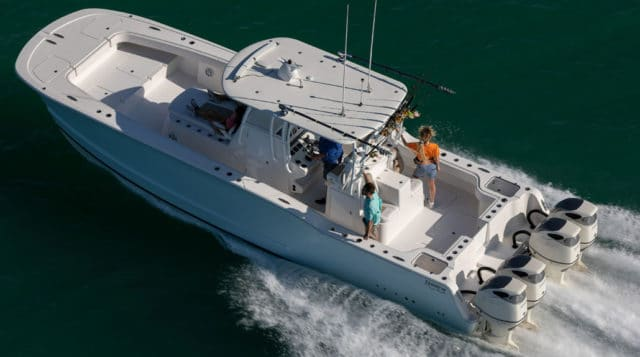 powercat fishing boat