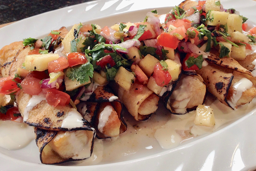 Rolled Wahoo Fish Taco Recipe From Fisherman's Belly ... - photo#12