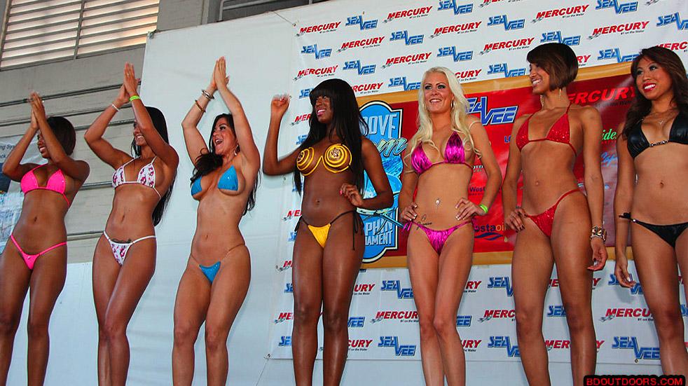 Drunk bikini contest