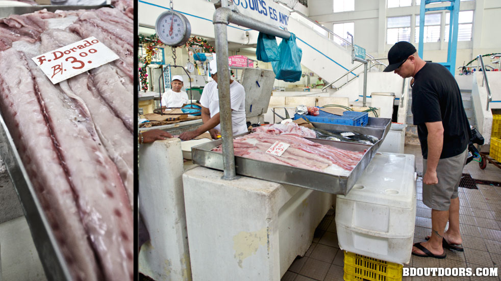 Isla secas resort for Pacific fish market
