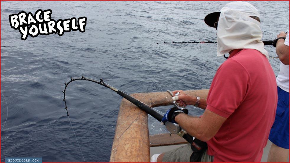 fishing yourself